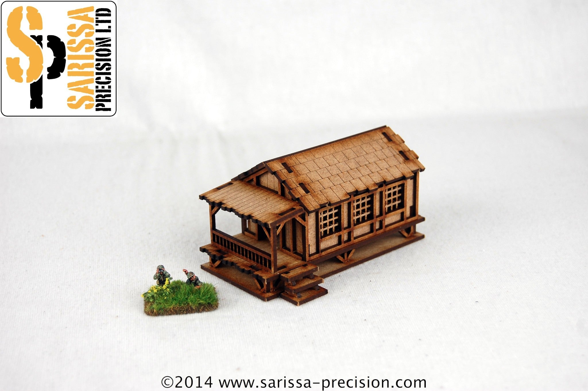 Low Small Village House - 15mm