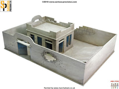 Damaged Compound and House - 28mm