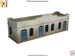 Large Single-Storey Building - 28mm