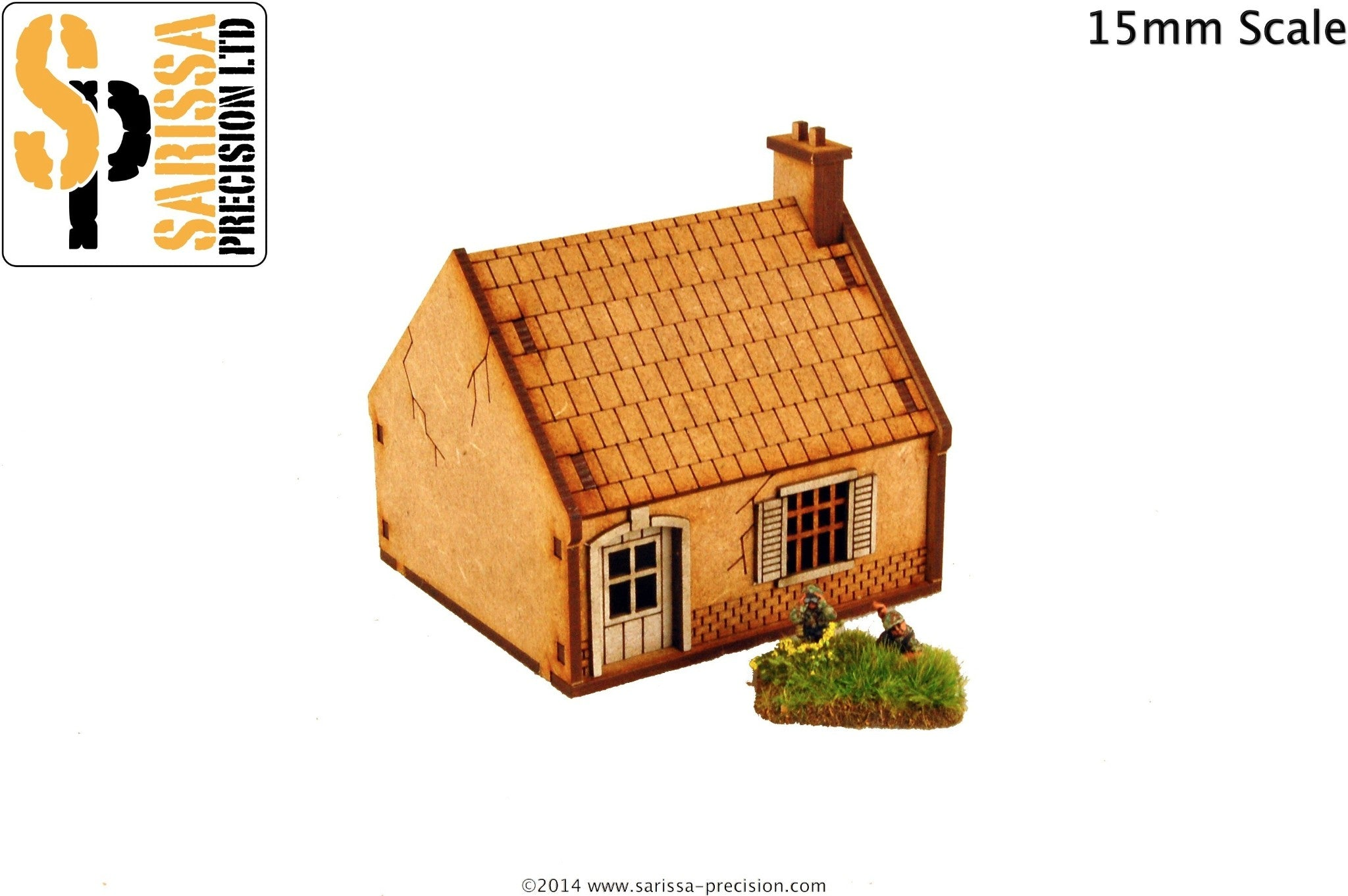 Single-Storey House - 15mm
