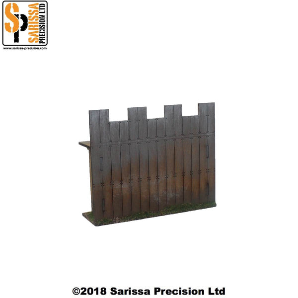 Wooden Palisade Wall (Straight)