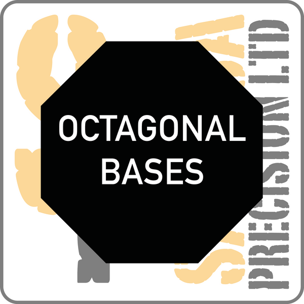 90mm Octagonal Base Pack