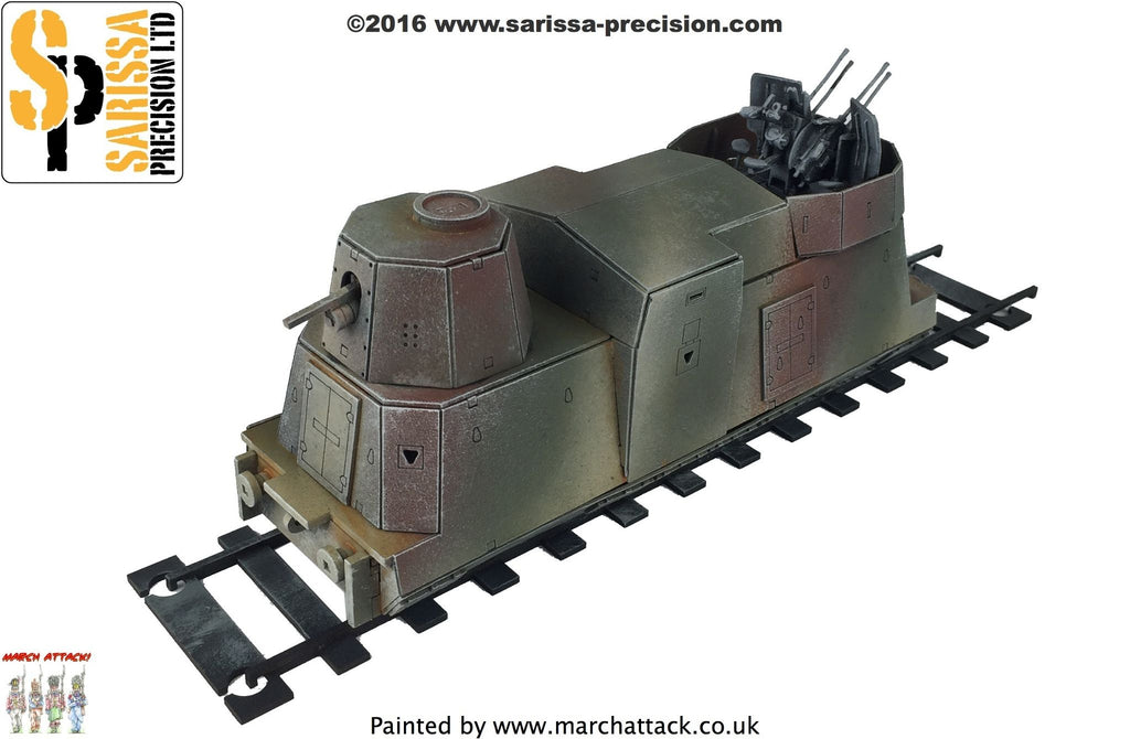 Armoured Artillery Carriage