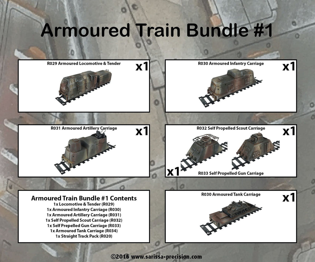 Armoured Train Bundle 1