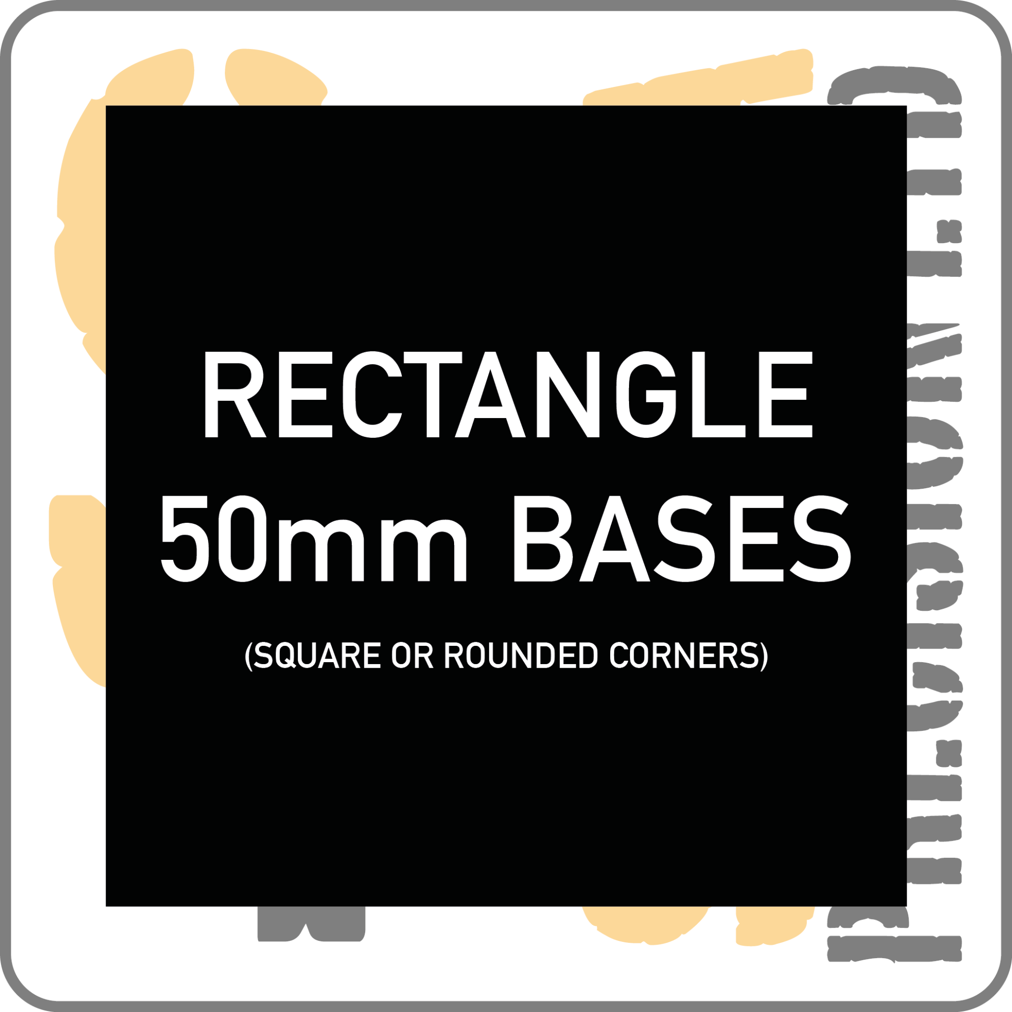 60 x 50mm Base Pack