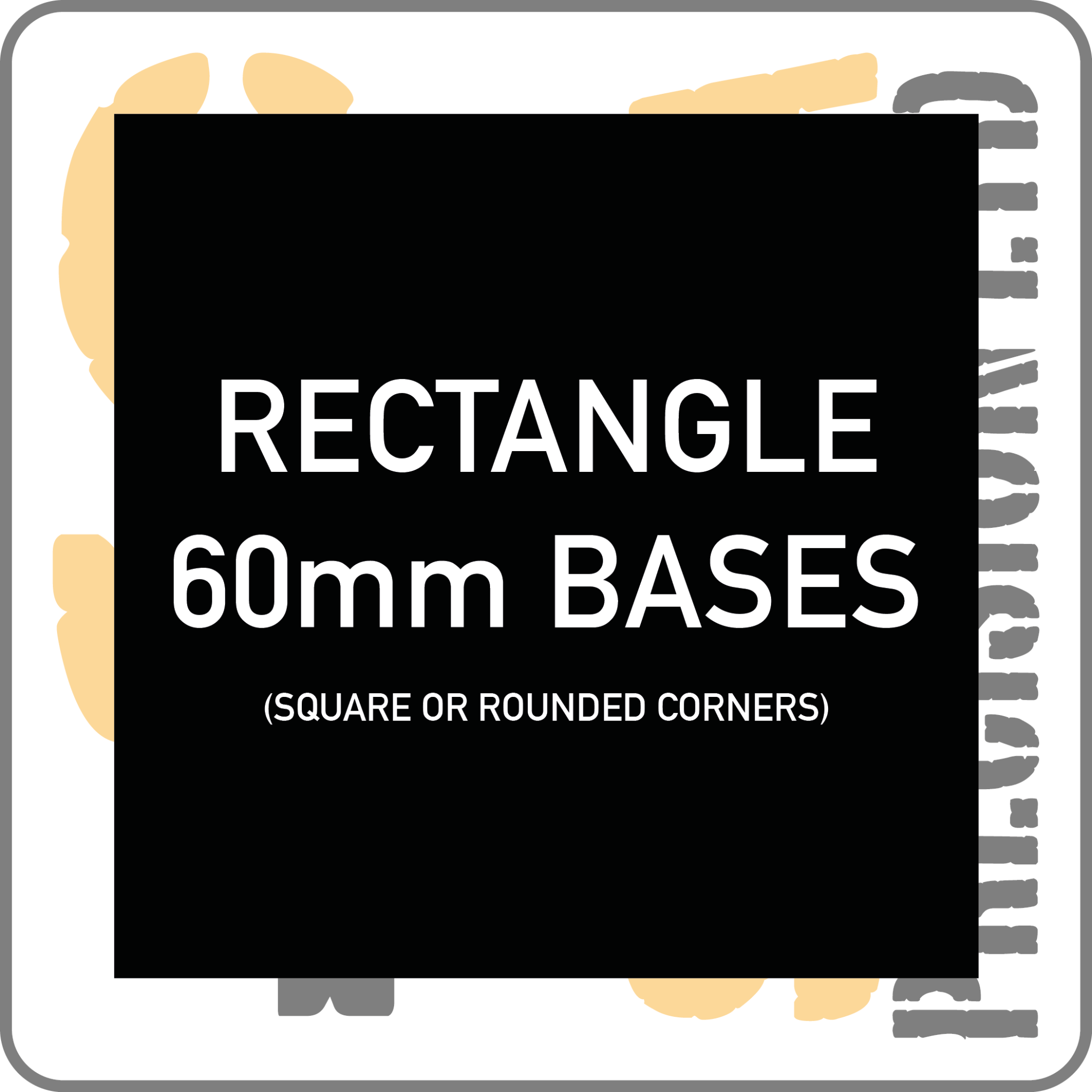 80 x 60mm Base Pack