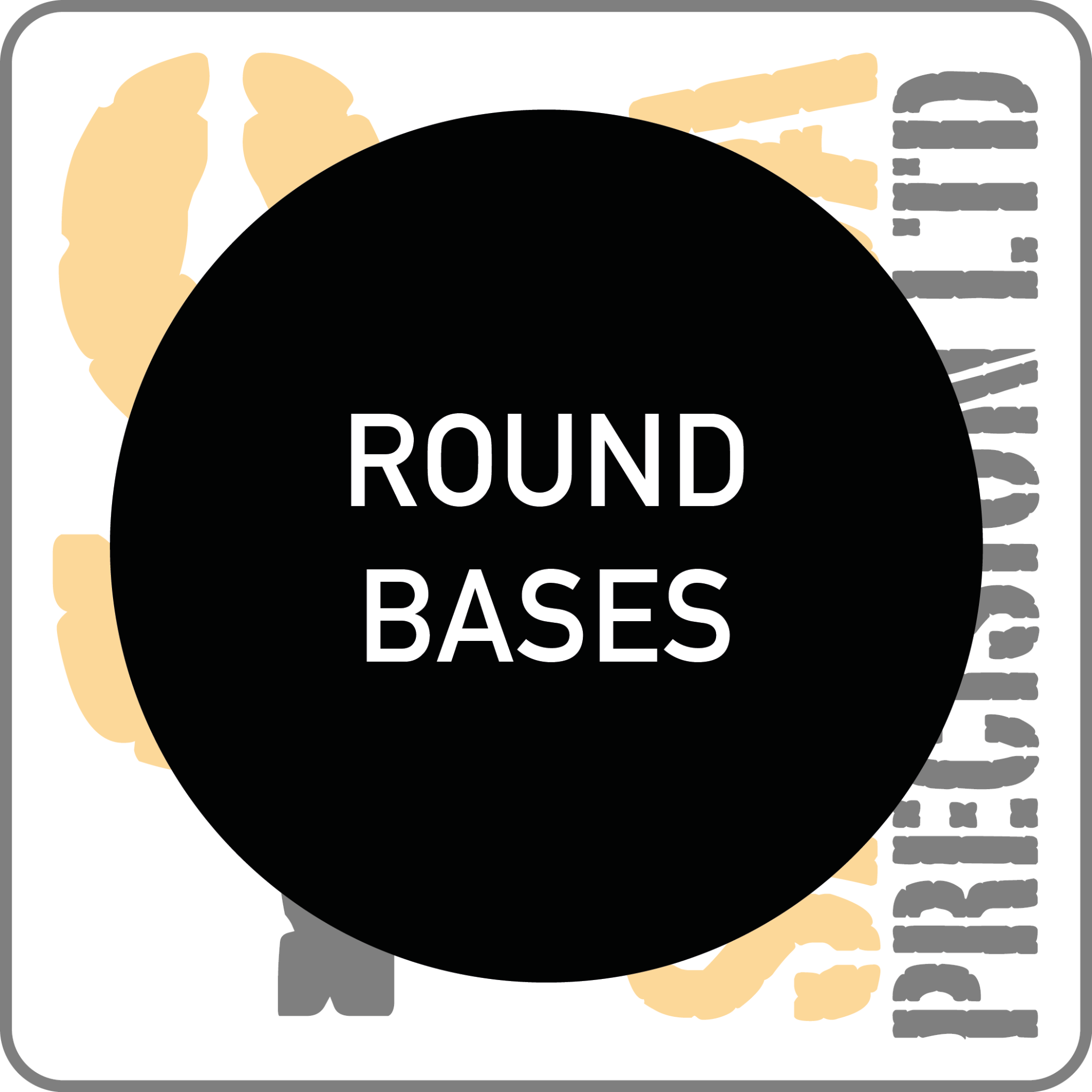 15mm Round Base Pack