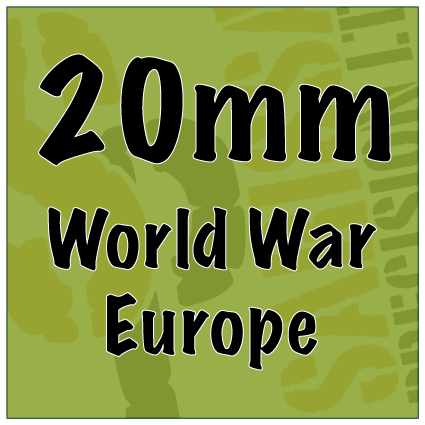 World War Europe 20mm