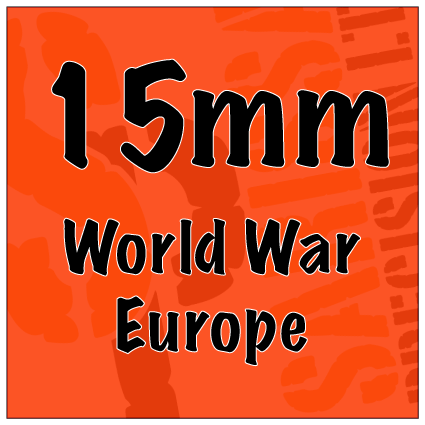 World War Europe 15mm