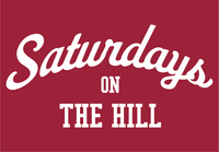 Arkansas Inspired Saturdays on the Hill T-Shirt