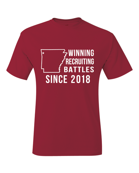 Arkansas Footaball 2018-19 Recruiting T-Shirt