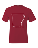 Arkansas Fayetteville Where My Team Plays T-Shirt