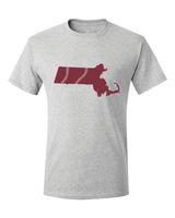 Massachusetts Baseball Boston Maroon & Gold T-Shirt