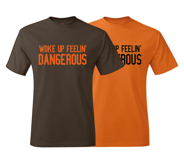 Baker Mayfield Woke Up Dangerous T-Shirt