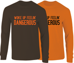 Baker Mayfield Woke Up Dangerous Long Sleeve T-Shirt