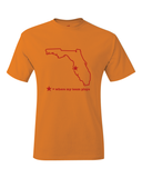 Buccaneers Throwback Tampa Bay Florida Where My Team Plays T-Shirt