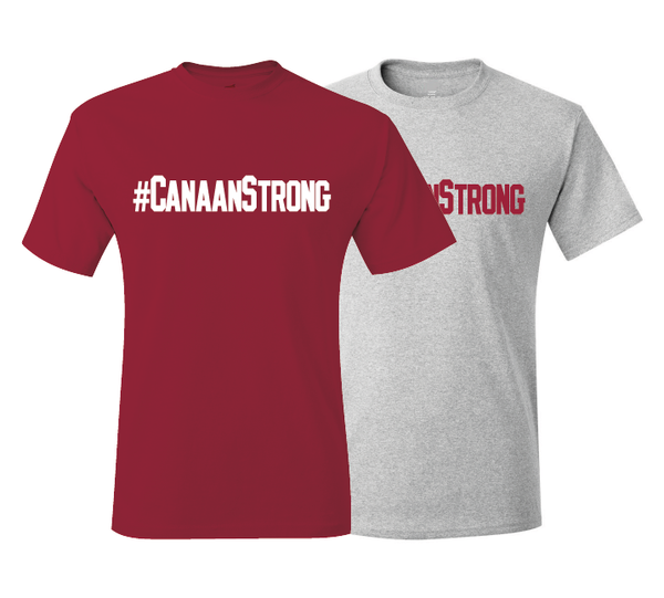 #CANAANSTRONG Arkansas Super Fan Canaan Sandy Support T-Shirt