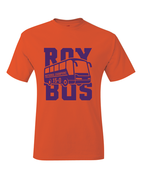 ROY BUS 15-0 2019 National Champions T-Shirt