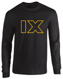 Star Wars Episode IX Logo Long Sleeve T-Shirt Sequel 2019