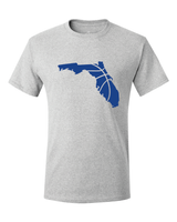 Florida Basketball Gainesville Royal Blue & Orange T-Shirt