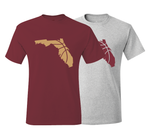 Florida Basketball Tallahassee Maroon & Gold T-Shirt