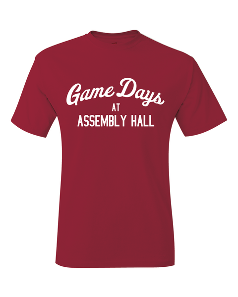 Indiana Inspired Game Days At Assembly Hall T-Shirt