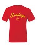 Sundays In KC Kansas City Inspired T-Shirt