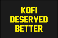 Kofi Deserved Better Kofi Kingston WWE Smackdown Defeat T-Shirt