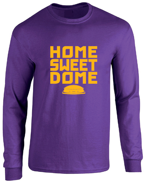 Louisiana New Orleans Superdome Home Sweet Dome Long Sleeve T-Shirt