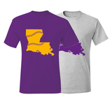 Louisiana Baseball Baton Rouge T-Shirt