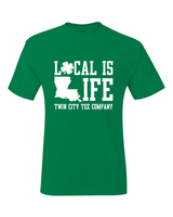 Local Is Life St Patrick's Day 2019 Twin City T-Shirt