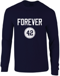 Forever 42 Mo HOF 2019 Long Sleeve T-Shirt
