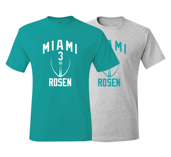 Josh Rosen Miami Inspired Training Camp Jersey T-Shirt