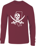 Mississippi Mike Leach Pirate Long Sleeve T-Shirt