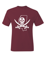 Mississippi Pirate Mike Leach T-Shirt