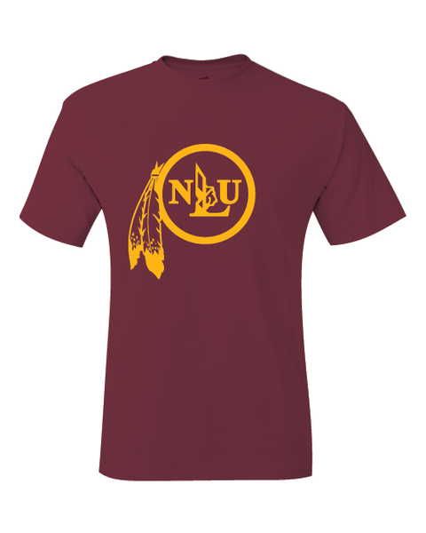 NLU Northeast Louisiana University Indians Campus Logo T-Shirt
