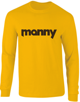 Manny San Diego Throwback Inspired Long Sleeve T-Shirt