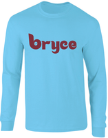 Bryce Philadelphia Throwback Inspired Long Sleeve T-Shirt