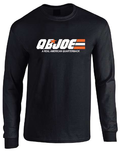 QB Joe Burrow GI Joe Inspired Jersey Long Sleeve T-Shirt