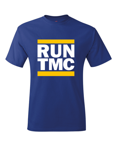 Golden State Inspired Tim, Mitch, Chris RUN TMC T-Shirt