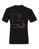 New Orleans Louisiana Where My Team Plays T-Shirt