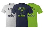 DK Metcalf Seattle Inspired Training Camp Jersey T-Shirt