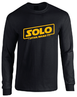 Star Wars Han Solo Movie Logo Long Sleeve T-Shirt