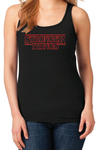 Stranger Things Inspired Stronger Things Women's Racerback Gym Tank Top