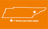 Tennessee Knoxville Where My Team Plays T-Shirt
