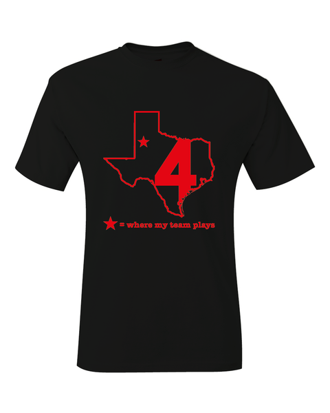 Texas Lubbock Where My Team Plays Basketball Final Four T-Shirt