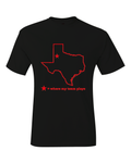 Texas Lubbock Where My Team Plays T-Shirt