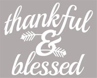 Thankful & Blessed Christmas Unisex Baseball Raglan T-Shirt