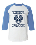 13 Reasons Why Liberty High School Tiger Pride Baseball Raglan T-Shirt