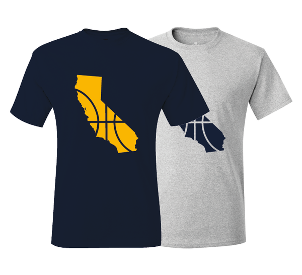 California Basketball Irvine Navy & Gold T-Shirt